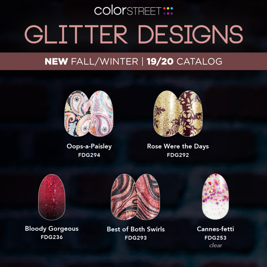Color Street Fall Collection 2019 – Pretty Chic Nails & Charms